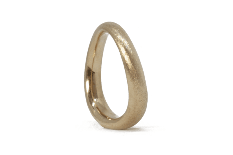 Wabi Sabi Bølge wedding rings norway