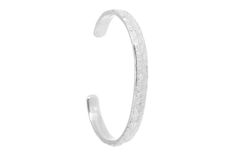 Wabi Sabi Fråst armcuff in silver