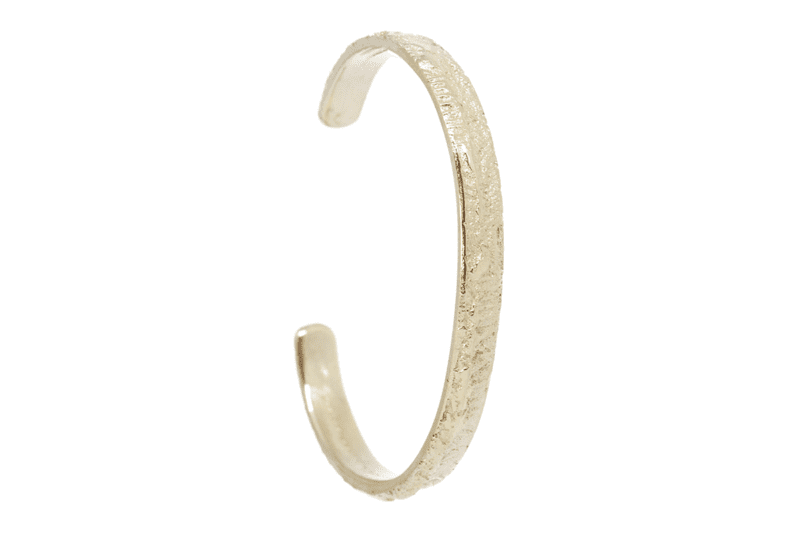 Wabi Sabi armcuff in gold