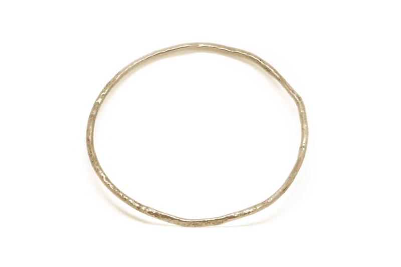 Wabi Sabi bracelet, armring in gold