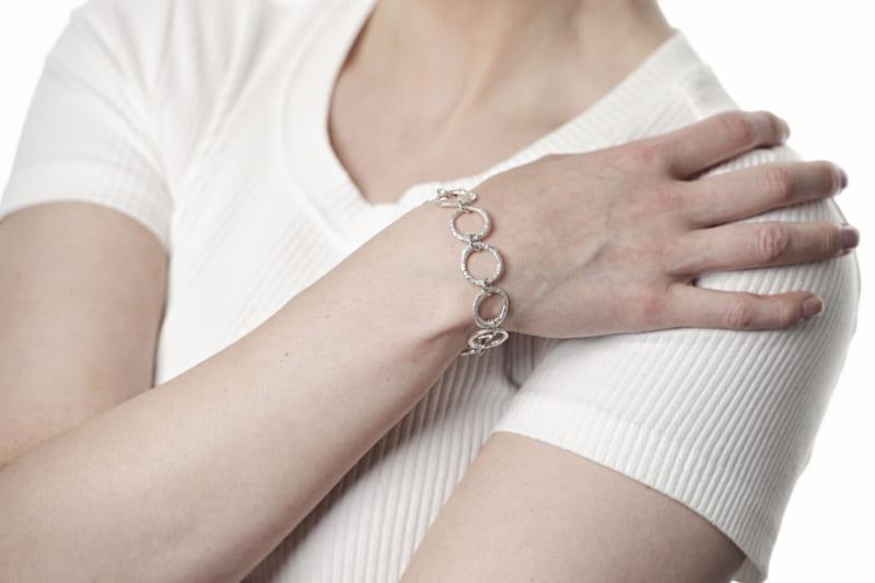 Mingle bracelet i sølv